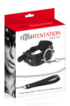 sinsfactory it p995619-boundless-collar-and-leash-black 002