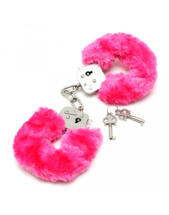Rimba - Police Handcuffs with Pink Fur