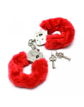 Rimba - Police Handcuffs with Red Fur