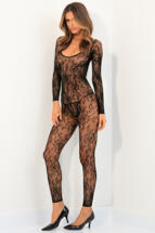 BODY UP CROTCHLESS BODYSTOCKING