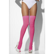 Calze Rosa Neon Hold Up Pink