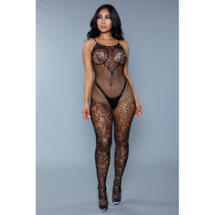Bodystocking Can't Get Enough Black