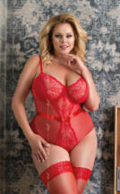 Amelia Plus Size Red XL