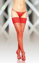 Stockings 5537    red/ 2