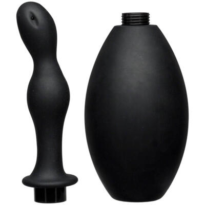 KINK - Flow Flush - Silicone Anal Douche & Accessory